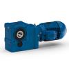 Helical bevel geared motors - Serie K